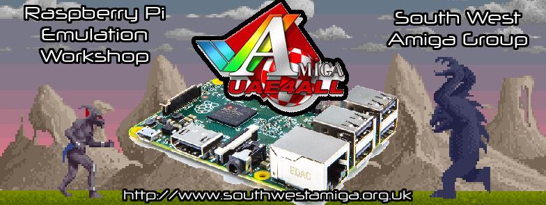 SOUTH WEST AMIGA GROUP » Raspberry Pi Workshop